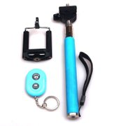 Oferte si Servicii - Selfie Stick - Monopod extensibil cu suport pentru telefon si telecomanda wireless