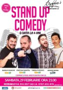 "Spectacole din Bucuresti - Stand-Up Comedy Show: ""O data la 4 Ani!"""