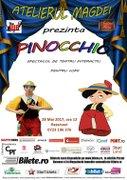 Teatru pentru copii: Pinocchio