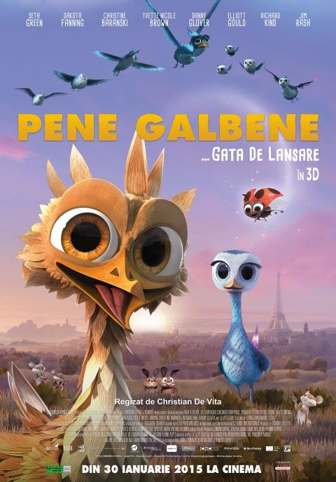 Cinema - Yellowbird (Pene galbene)
