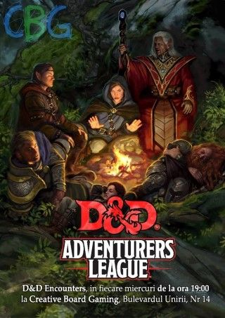 Alte evenimente - Dungeons and Dragons