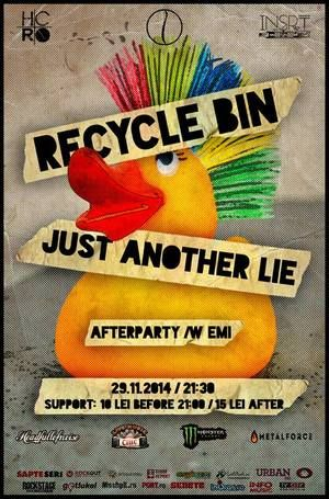 Concerte - Recycle Bin, Just Another Lie