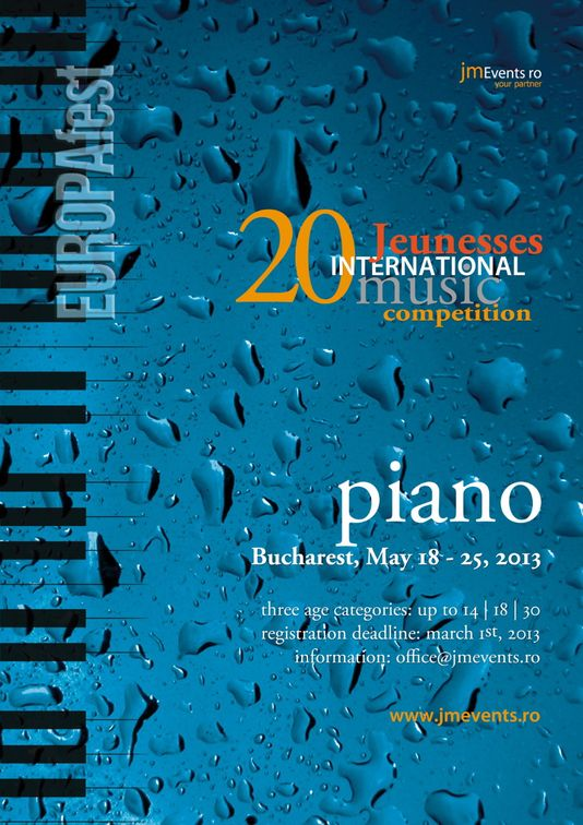 Festivaluri - Jeunesses International Piano Competition