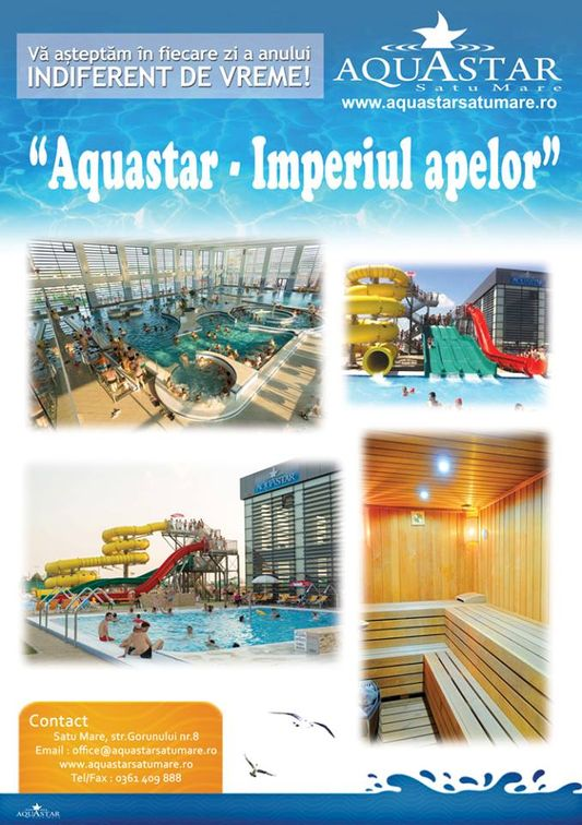 Aquastar, Satu Mare | Alte locuri