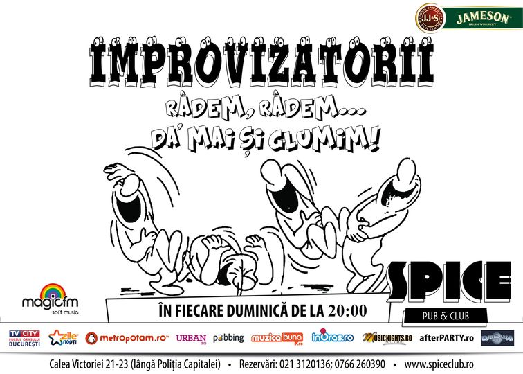 Spectacole - Improvizatorii
