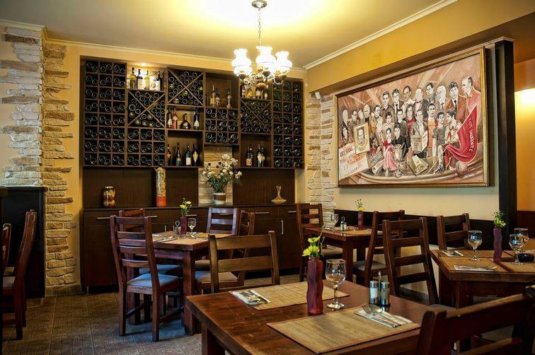 Trattoria Il Calcio - Obor, Bucuresti   Restaurant, Terasa