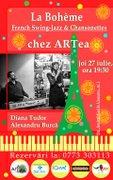 La Boheme - Chansonete, French Swing- Jazz & Tango, Live