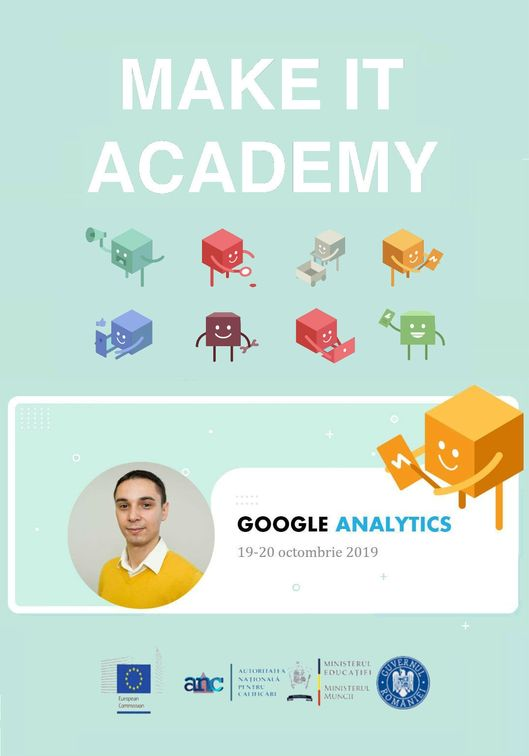 Workshops din Bucuresti - Curs Google Analytics