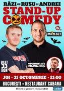 Spectacole din Bucuresti - Halloween Stand-up Comedy Night