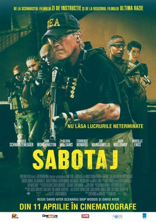 Cinema - Sabotage
