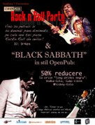 Petreceri - Black Sabbath @ Rock N' Roll Party!