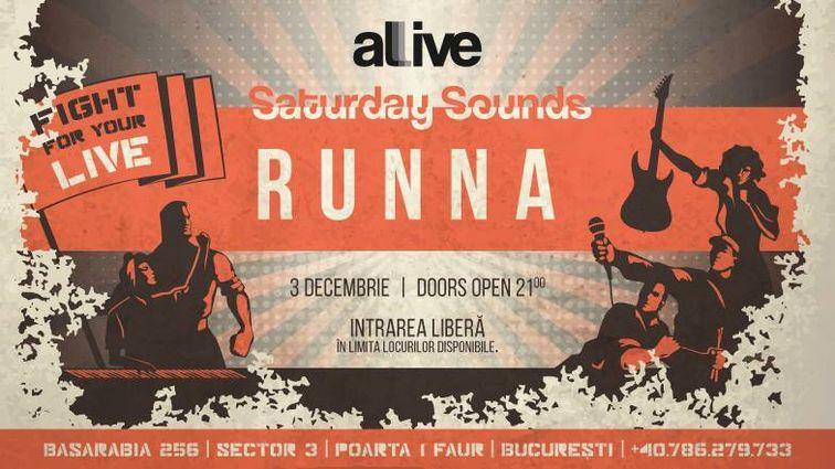 Concerte - Saturday Sounds presents Runna