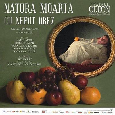 Natura moarta cu nepot obez