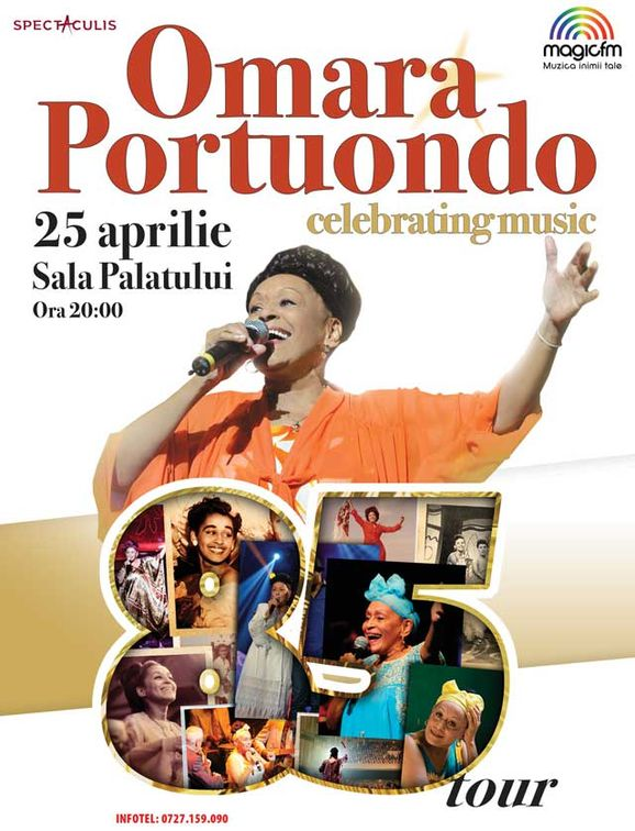 Concerte din Bucuresti - Omara Portuondo