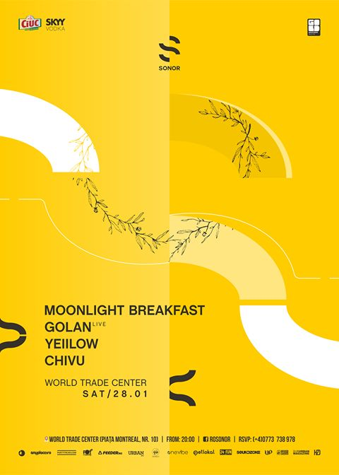 SONOR w/ Moonlight Breakfast . GOLAN live . YellLow
