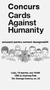 Alte evenimente - Concurs de Cards against Humanity