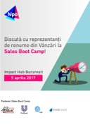 Workshops din Bucuresti - Sales Boot Camp