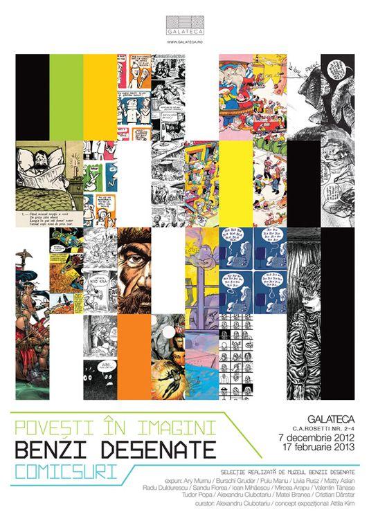 Povesti in imagini, benzi desenate, comicsuri