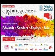 Artist in Residence – John Edwards / Mark Sanders / David Frydryk / Sian Brie – Reimagining Migration // Concert Jazz