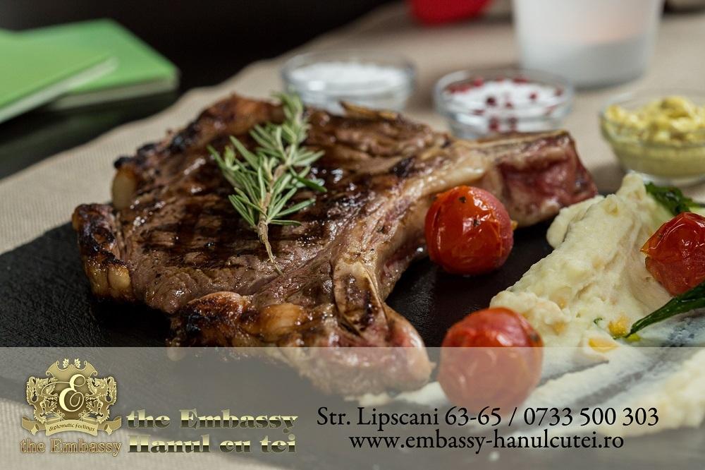 NY Steak cu piure