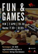 Alte-evenimente din Romania - Fun and Games Night! – Seara de Jocuri!