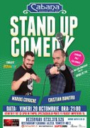 Spectacole din Romania - Stand-up comedy cu Marius Covache & Cristian Dumitru