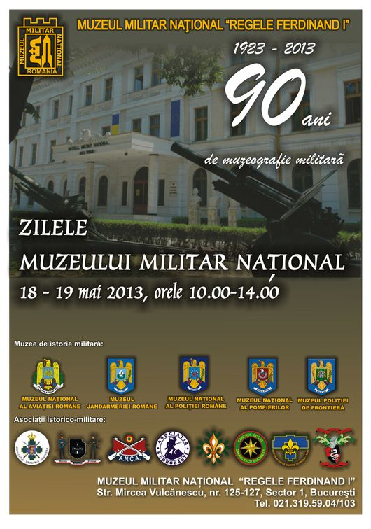 Alte evenimente - Zilele Muzeului Militar National