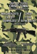 Piese de teatru din Bucuresti - Imagineaza-ti ca esti Dumnezeu