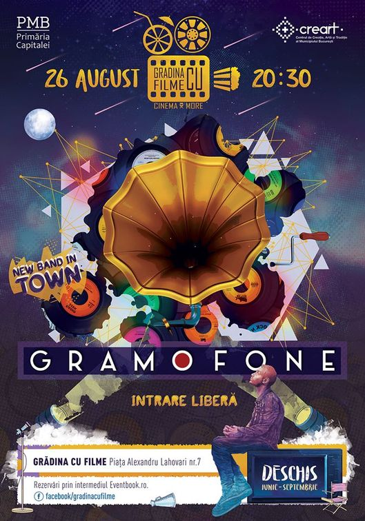 New band in Town: Gramofone