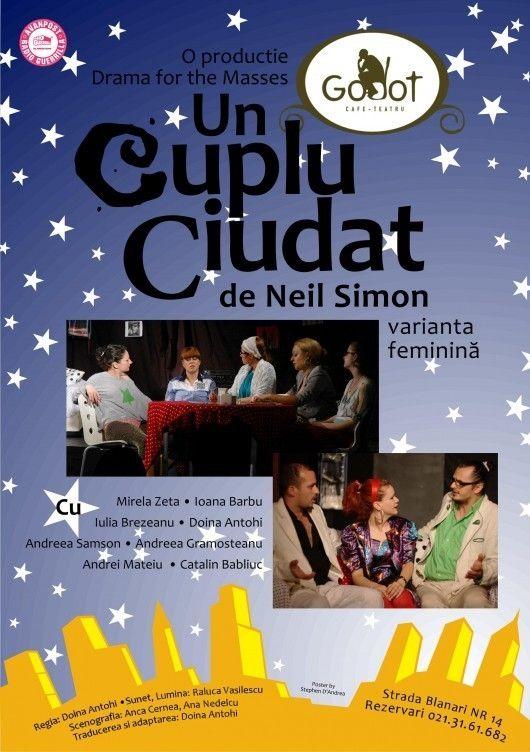 Piese de teatru din Bucuresti - Un cuplu ciudat