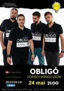 Spectacole din Bucuresti - Comedy Improv Show cu Trupa Obligo