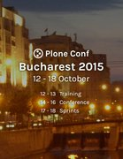 Plone Conference Bucharest 2015