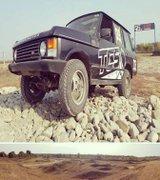 Range Rover MK1 pe cel mai complex circuit offroad din Romania