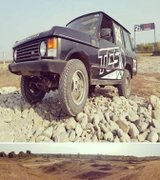 Alte evenimente - Range Rover MK1 pe cel mai complex circuit offroad din Romania