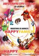 Maraton de animatii Happy Family