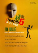 Piese de teatru din Bucuresti - Festivalul Teatru sub Luna - Ziua 7
