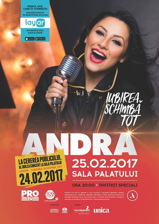 Concerte din Romania - Andra