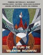 Expozitii - Valentin Rozsnyai - Oglindiri in mit
