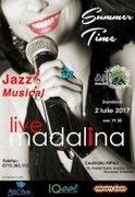 Concerte din Romania - Jazz Summer Time - Concert de Jazz, cu Madalina Mantu, Live