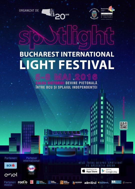 SPOTLIGHT - Bucharest International Light Festival #2