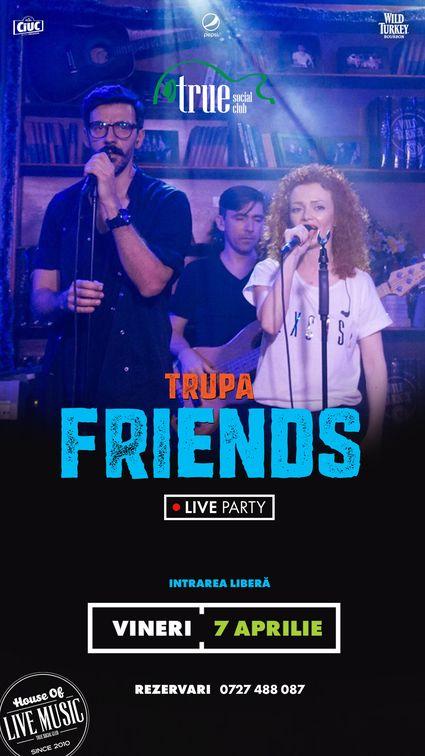 Concerte din Bucuresti - Friends Night Out