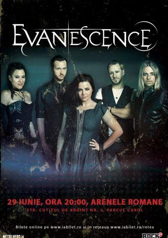 Concerte din Bucuresti - Evanescence