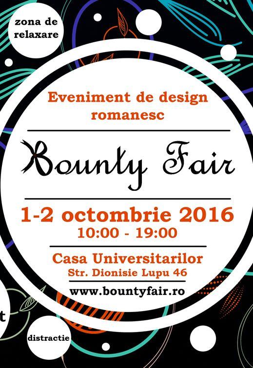Bounty Fair #19: Cel mai mare eveniment de handmade romanesc!