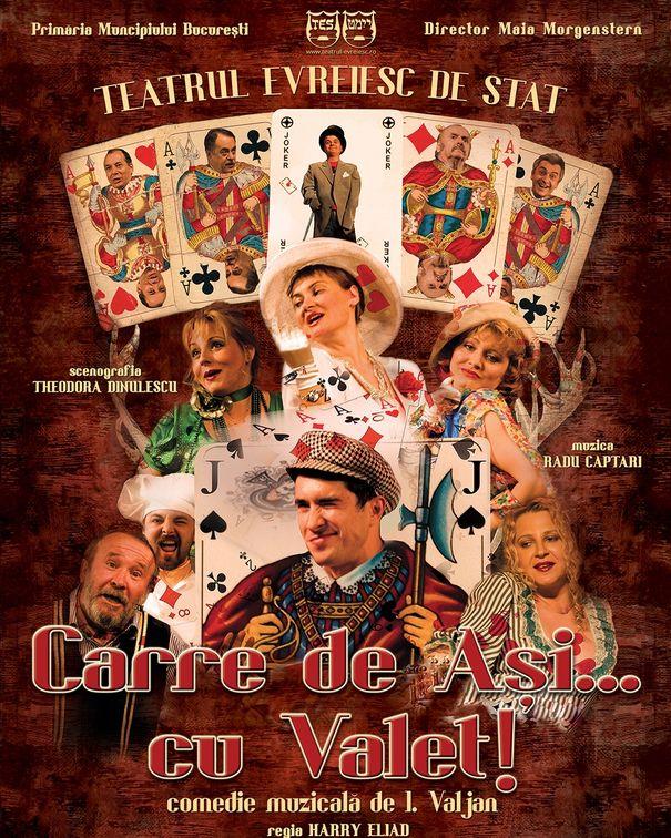 Piese de teatru din Bucuresti - Carre de asi... cu valet!