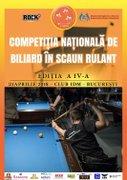 Competitia Nationala de Biliard in Scaun Rulant