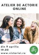 Workshops din Bucuresti - Atelier de Actorie Online