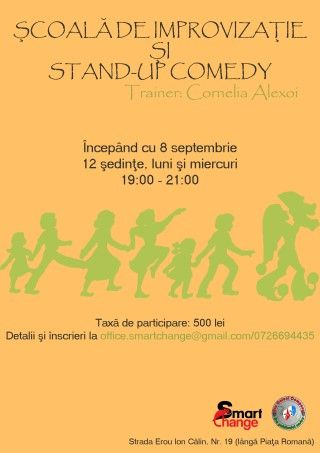 Workshops - Scoala de Improvizatie si Stand-Up Comedy