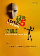 Festivalul Teatru sub Luna - Seara de muzica si poezie