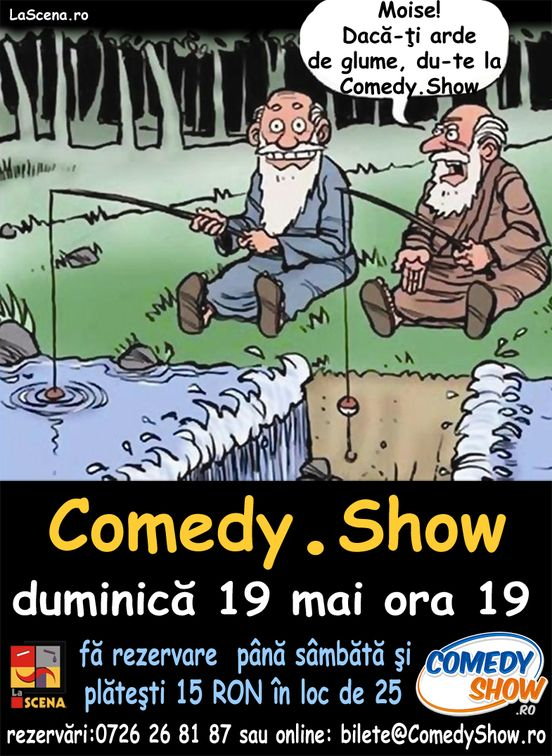 Spectacole - Comedy Show