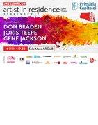 Artist in Residence – Don Braden / Joris Teepe / Gene Jackson – Trio of Liberty // Concert Jazz